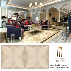 Living room composite floor marble tile