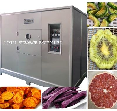 LANTAI microwave vacuum food dryer machine for fruit ,vegetable