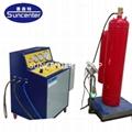 FM200 fire extinguisher filling machine