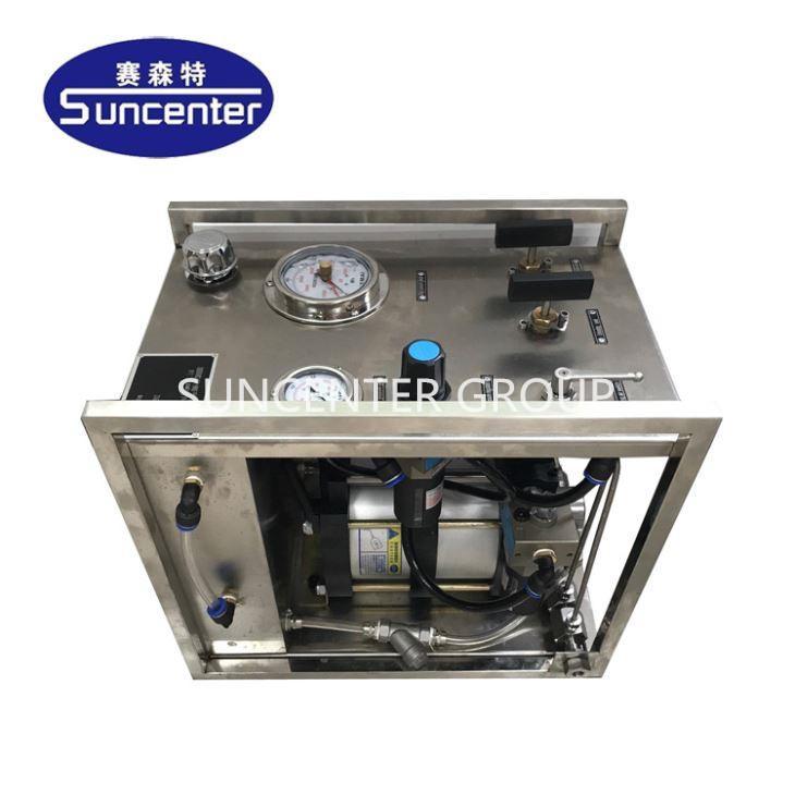 Max 6000 Bar Hydrostatic Test Pump For Hose pipe va  e 1