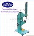 Rivetles riveting machine without rivets