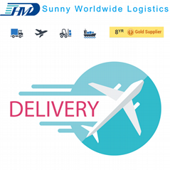 Door to door delivery service sample consolidation courier from china to uk