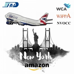 China warehouse air freight rate shipping cost from china to new york