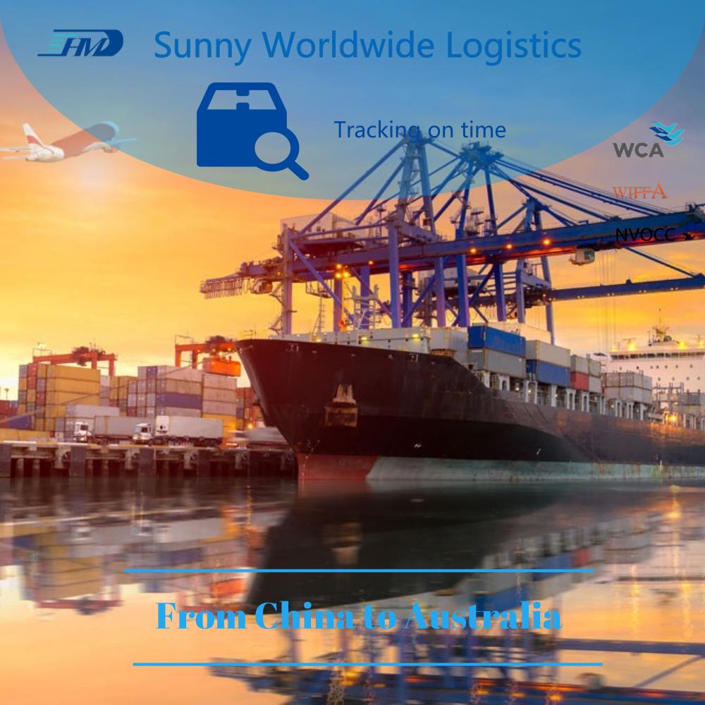 中国物流公司货物运输成本到澳大利亚 1