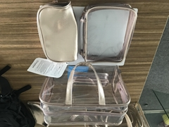 2018 new customized PU make-up bag travel set bag