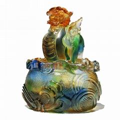 古法琉璃工廠 琉璃廠家 深圳琉璃工廠 惠州琉璃工藝品