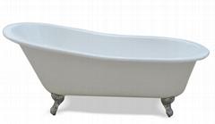 China bathtub enameled cast iron bathtub manufacturer