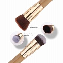 Liya Double Sided Makeup Kit Multifunctional Facial Powder Brush