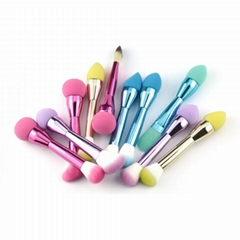Factory Wholesales Double Sided Makeup Brush Sponge Brush