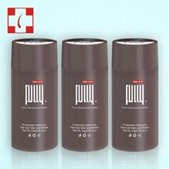 OEM Keratin Hair Building Fibers Organic Hair Fibers For Man&Woman