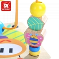 Educational Garden Activity Wooden Cube Math Block Beads Toys with Shape Sorting 2