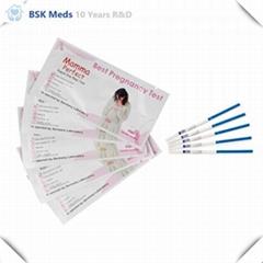 High quality HCG Pregnancy Test strips midstream cassette