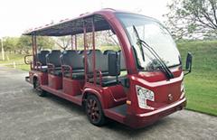 进口15座旅游景区观光车