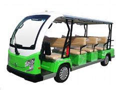 进口12座旅游景区观光车