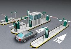 道閘車牌自動識別系統
