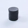 鐵氧體圓形黑色普通磁鐵吸鐵石