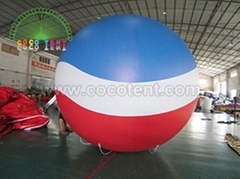 Inflatable coca-cola brand helium balloon for advertising promotion