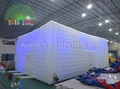 Led Lighting Inflatable Cube Tent