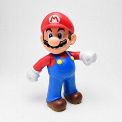Cartoon action moving figure toys for children