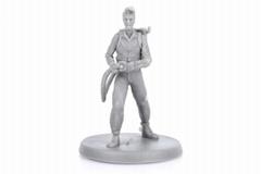 Factory wholesale board game action figurine PVC miniature OEM action figure
