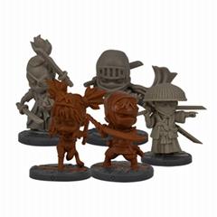 Factory OEM custom PVC figure, Custom board game miniature