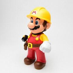 Cartoon Mario action figure toys for children
