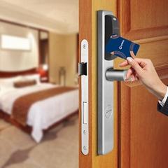 Euro size smart hotel lock