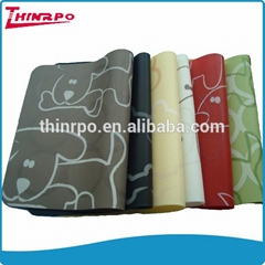 scan print heat resistant silicone rubber table mat dinner placemat