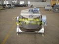 電蒸汽加熱攪拌型刮板式立式可傾斜夾層鍋 4