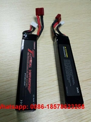 800mah 1200mah 1300mah 2S 7.4V Airsoft RC Lipo Batteries.