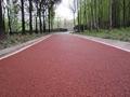 濟南彩色景觀路面彩色防滑車道