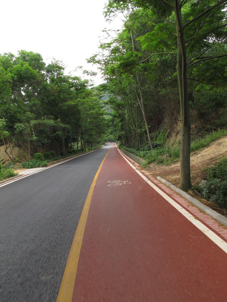 貴溪彩色防水路面人行道彩色瀝青 2