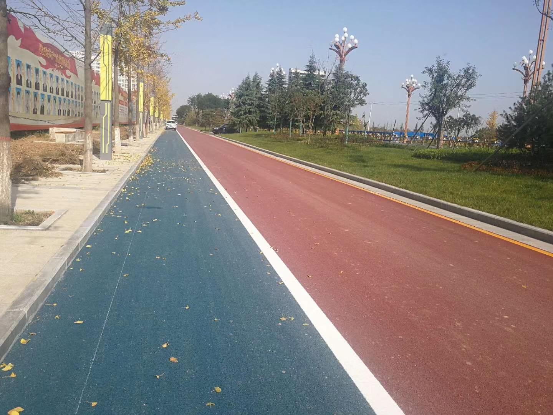 濟南防滑路面彩色防滑路面 1