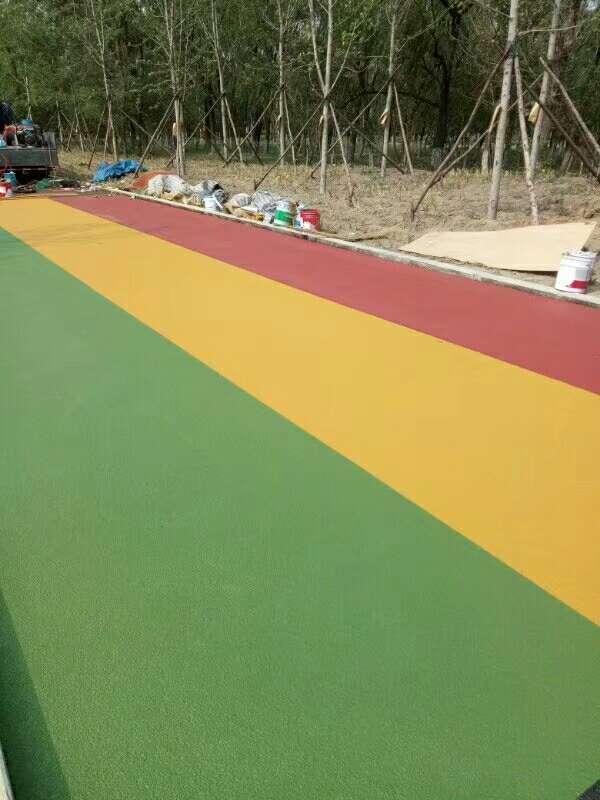 濟南防滑路面彩色防滑路面 2
