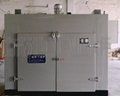 Heavy duty hot air circulation oven