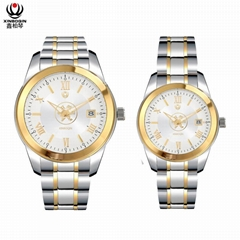XINBOQIN Creative Design Couple Automatic Mechanical Watch Custom Logo ODM OEM