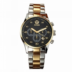 XINBOQIN Watch Maker Direct Sale Stainless Steel Quartz Multifunction Mens watch