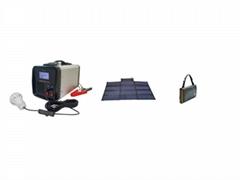 300W/ 500W Portable Solar Power Supply System