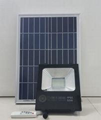 50W Solar Photosensitive Induction Spotlight