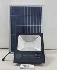 New one! Reasonable price! 100W Solar Photosensitive Induction Spotlight