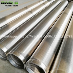China supplier provide stainless steel 304 316L wedge wire screen water filter