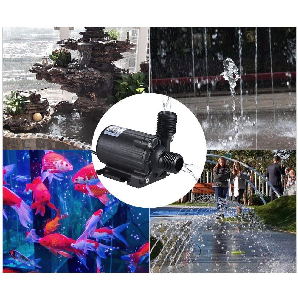 农用直流12V无刷灌溉循环水潜水两用工艺喷泉泵 2