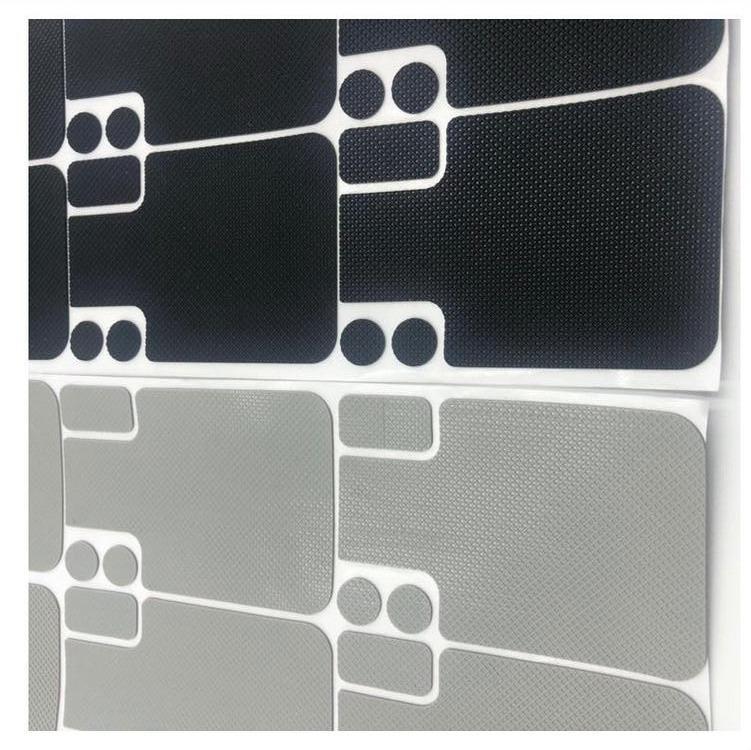 网纹硅胶垫磨砂止滑垫片手机电脑支架防滑垫电气绝缘硅橡胶垫片 1