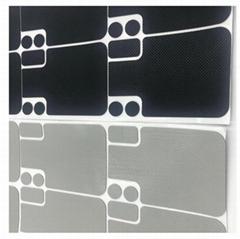 网纹硅胶垫磨砂止滑垫片手机电脑支架防滑垫电气绝缘硅橡胶垫片
