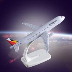 Static Exhibit Airplane Model OEM Airbus 320 Bangkok Airways Metal Crafts Manufa