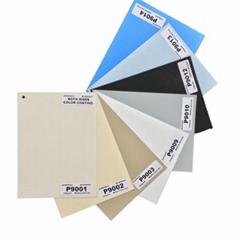 Modern Elegance White Tela Enrollable Para Cortina Roller Blackout Fabric