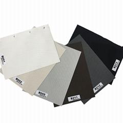Roller Blind Motorized Exterior Window Shade 5% Openness Sunscreen Fabric