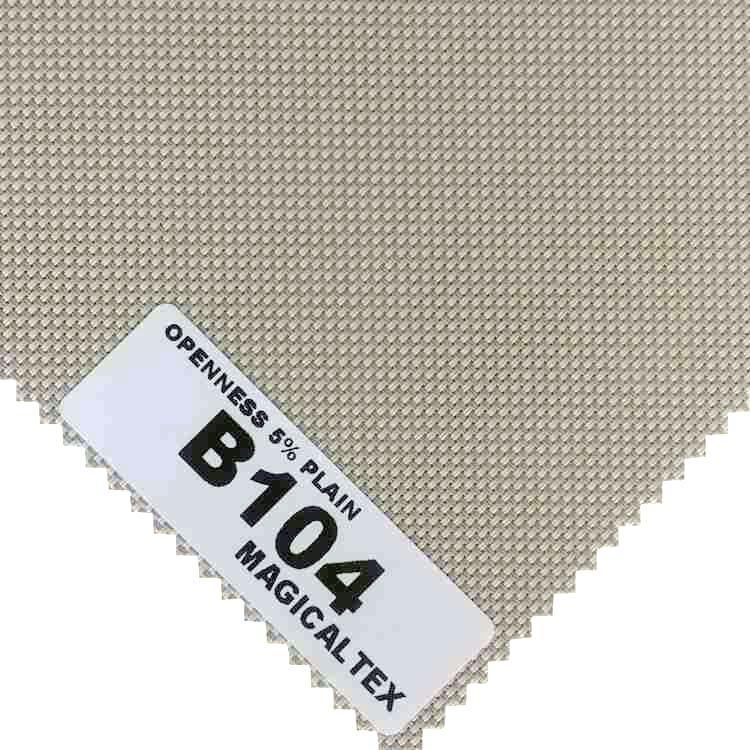 Roller Blind Motorized Exterior Window Shade 5% Openness Sunscreen Fabric 3