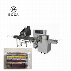 5-100pcs/bag pencils counting and packaging machine