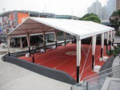 戶外籃球館篷房